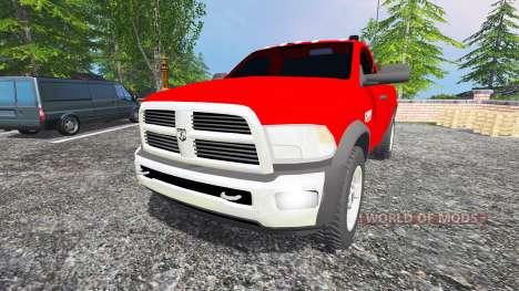 Dodge Ram 2500 2010 pour Farming Simulator 2015