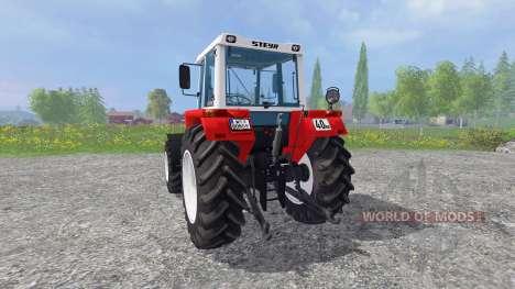 Steyr 8080A Turbo SK2 pour Farming Simulator 2015