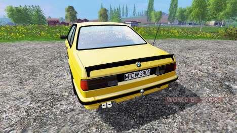 BMW M635CSi (E24) v1.0 pour Farming Simulator 2015