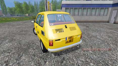 Fiat 126p für Farming Simulator 2015