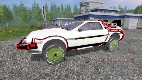 DeLorean DMC-12 Back To The Future pour Farming Simulator 2015