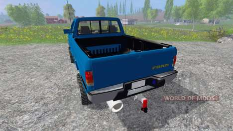 Ford F-1000 [Brasil] pour Farming Simulator 2015