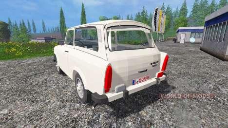 Trabant 601 S v0.5 pour Farming Simulator 2015