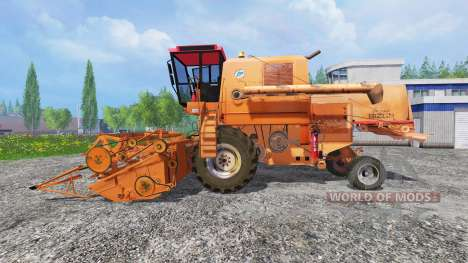 Bizon Z056 [orange] für Farming Simulator 2015