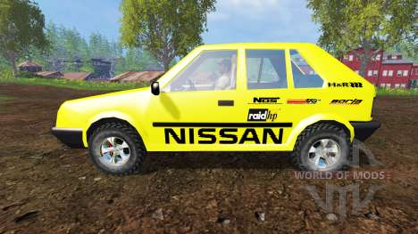 Nissan Micra [racing edition] v3.0 pour Farming Simulator 2015