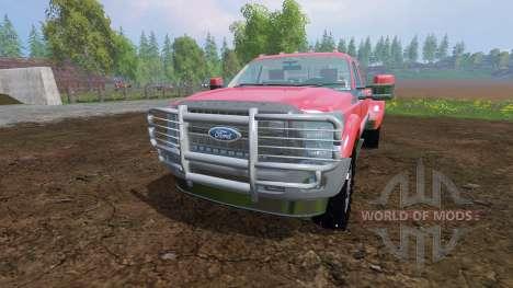 Ford F-450 v9.0 pour Farming Simulator 2015