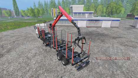 MAN TGS 18.440 [timber carrier] pour Farming Simulator 2015