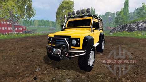 Land Rover Defender 90 [offroad] v2.0 pour Farming Simulator 2015