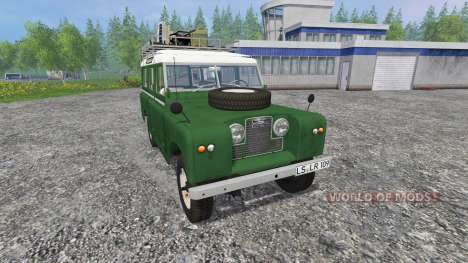 Land Rover Series IIa Station Wagon v1.2 für Farming Simulator 2015