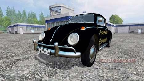 Volkswagen Beetle 1966 [feuerwehr] pour Farming Simulator 2015