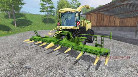 Krone Big X 580 [no gloss] pour Farming Simulator 2015