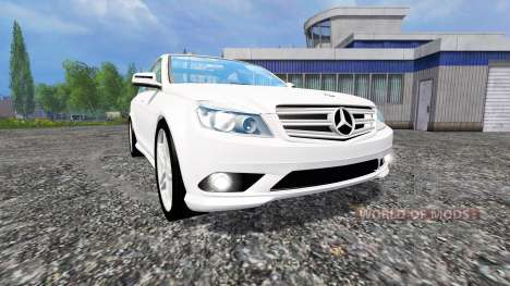 Mercedes-Benz C350 CDI v1.1 für Farming Simulator 2015