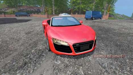 Audi R8 Spyder v1.1 für Farming Simulator 2015