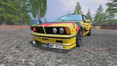 BMW M635CSi (E24) v2.0 für Farming Simulator 2015