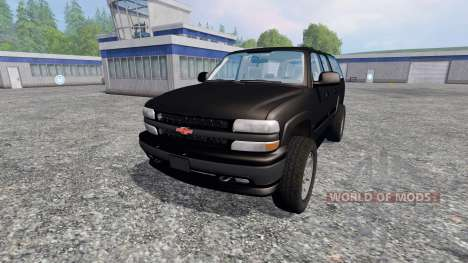 Chevrolet Suburban [custom] für Farming Simulator 2015