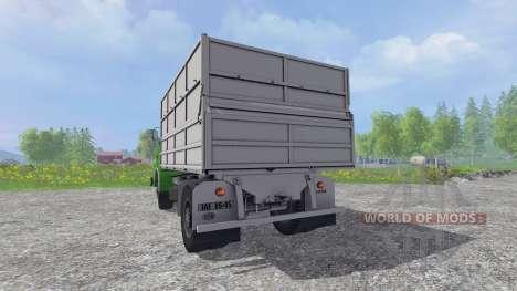Skoda Liaz Tipper v1.1 pour Farming Simulator 2015
