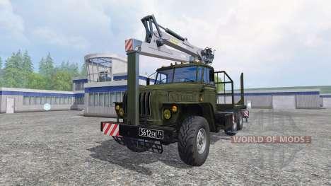 Ural-4320 [Holz] für Farming Simulator 2015