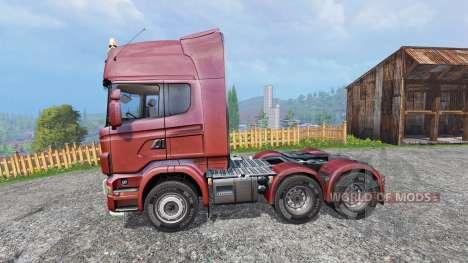 Scania R730 [Topline] v2.0 für Farming Simulator 2015