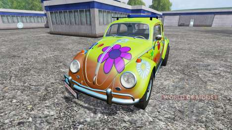 Volkswagen Beetle 1966 [peace and love] pour Farming Simulator 2015
