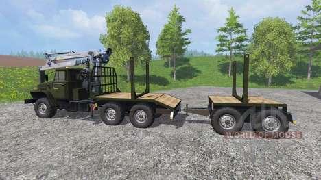 Ural-4320 [Holz] v3.0 für Farming Simulator 2015