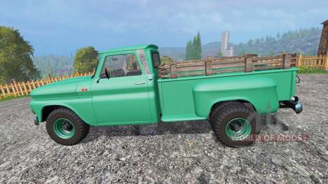 Chevrolet C10 Fleetside 1966 [custom] pour Farming Simulator 2015
