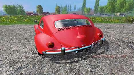 Volkswagen Beetle 1966 v1.2 pour Farming Simulator 2015