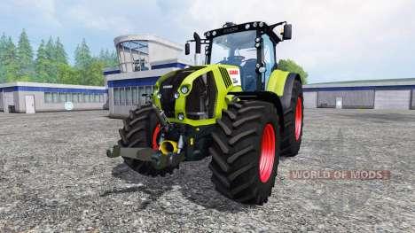 CLAAS Axion 850 v1.2 pour Farming Simulator 2015