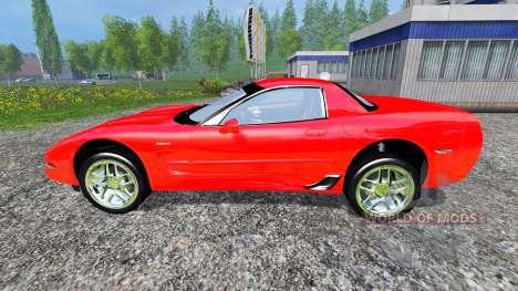 Chevrolet Corvette C5 pour Farming Simulator 2015