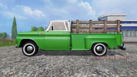 Chevrolet C10 Fleetside 1966 v1.1 für Farming Simulator 2015