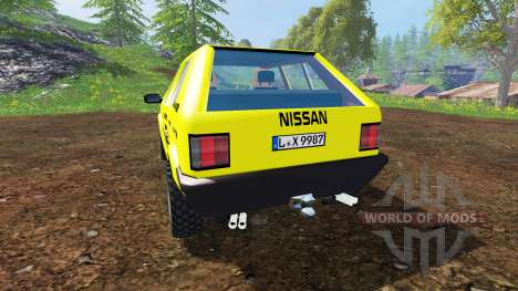 Nissan Micra [racing edition] v3.0 für Farming Simulator 2015