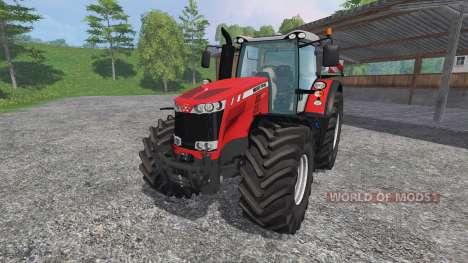 Massey Ferguson 8737 pour Farming Simulator 2015