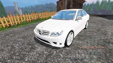 Mercedes-Benz C350 CDI für Farming Simulator 2015