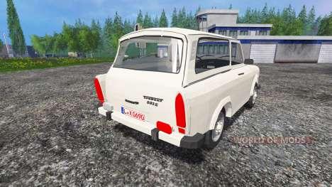 Trabant 601 S v0.6 für Farming Simulator 2015