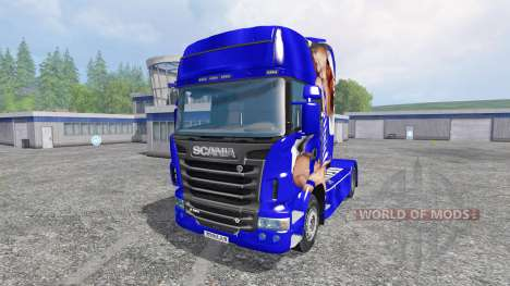 Scania R560 [Lux] pour Farming Simulator 2015
