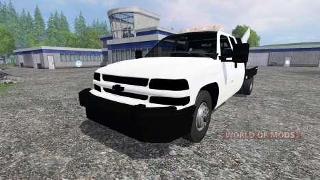 Chevrolet Silverado Flatbed v2.0 für Farming Simulator 2015