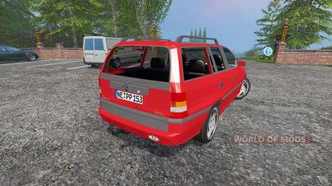 Opel Astra F Caravan v2.0 für Farming Simulator 2015