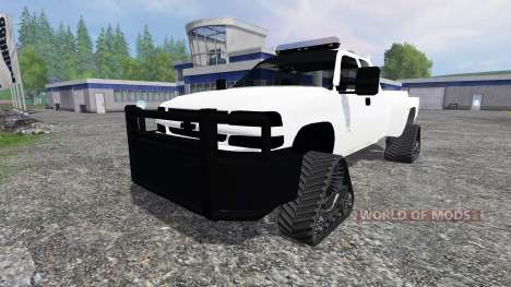 Chevrolet Silverado [brush truck] für Farming Simulator 2015