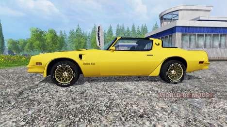 Pontiac Firebird Trans Am 1977 v1.2 für Farming Simulator 2015