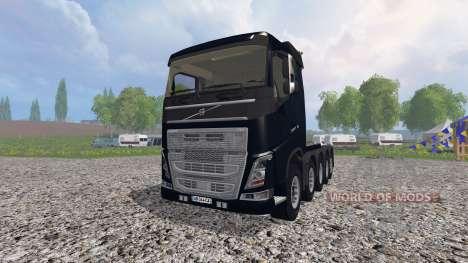 Volvo FH10x4 [heavy duty] v1.1 für Farming Simulator 2015