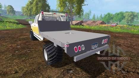 Ford F-150 XL 1992 [flatbed] für Farming Simulator 2015