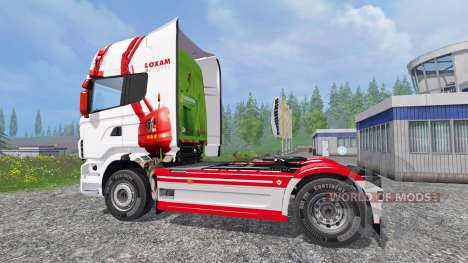 Scania R560 [loxam] für Farming Simulator 2015