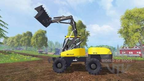 Mecalac 12MTX pour Farming Simulator 2015