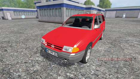 Opel Astra F Caravan pour Farming Simulator 2015