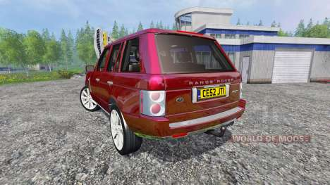 Range Rover Supercharged 2009 pour Farming Simulator 2015
