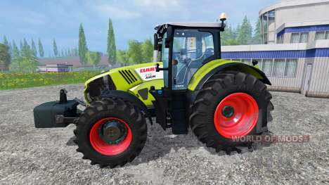CLAAS Axion 870 v1.5 pour Farming Simulator 2015