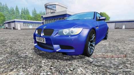 BMW M3 (E92) v2.0 für Farming Simulator 2015