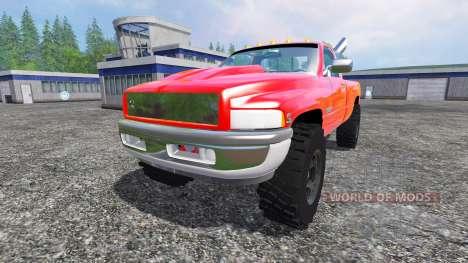 Dodge Ram 2500 2001 pour Farming Simulator 2015