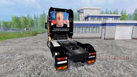 Scania R560 [Hugo La Merde] pour Farming Simulator 2015