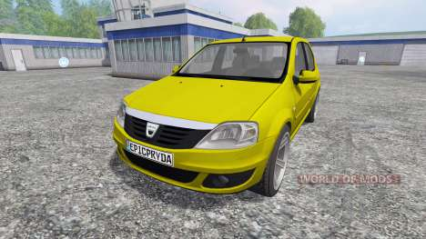 Dacia Logan pour Farming Simulator 2015