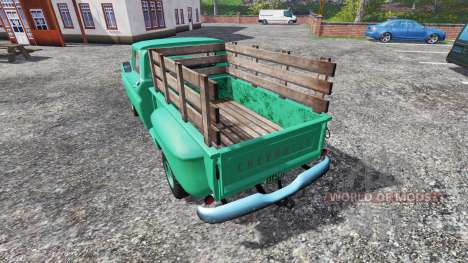 Chevrolet C10 Fleetside 1966 [custom] für Farming Simulator 2015